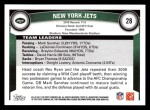 2011 Topps #28   Jets Team Back Thumbnail