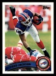 2011 Topps #116  Fred Jackson  Front Thumbnail