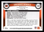 2011 Topps #122   Bengals Team Back Thumbnail