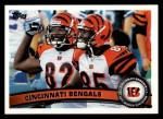 2011 Topps #122   Bengals Team Front Thumbnail