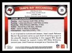 2011 Topps #35   Buccaneers Team Back Thumbnail