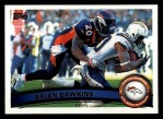 2011 Topps #123  Brian Dawkins  Front Thumbnail