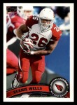 2011 Topps #68  Beanie Wells  Front Thumbnail