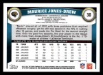 2011 Topps #30  Maurice Jones-Drew  Back Thumbnail