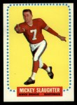 1964 Topps #61  Mickey Slaughter  Front Thumbnail