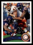 2011 Topps #254   Bears Team Front Thumbnail