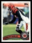 2011 Topps #335  Carlos Dunlap  Front Thumbnail