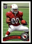 2011 Topps #395  Ryan Williams  Front Thumbnail