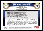 2011 Topps #232   Chargers Team Back Thumbnail