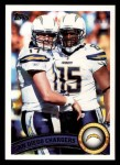 2011 Topps #232   Chargers Team Front Thumbnail