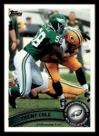 2011 Topps #237  Trent Cole  Front Thumbnail