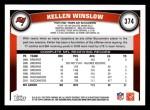 2011 Topps #374  Kellen Winslow  Back Thumbnail