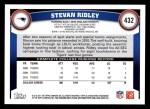 2011 Topps #432  Stevan Ridley  Back Thumbnail