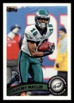 2011 Topps #394  Jeremy Maclin  Front Thumbnail