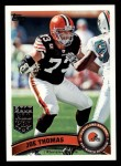 2011 Topps #285  Joe Thomas  Front Thumbnail
