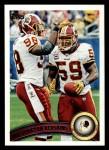 2011 Topps #388   Redskins Team Front Thumbnail