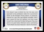 2011 Topps #276  Kris Dielman  Back Thumbnail
