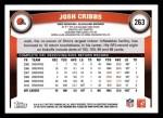 2011 Topps #263  Josh Cribbs  Back Thumbnail