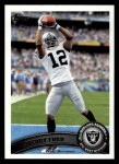 2011 Topps #312  Jacoby Ford  Front Thumbnail