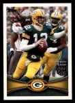 2012 Topps #1  Aaron Rodgers  Front Thumbnail
