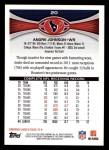 2012 Topps #20  Andre Johnson  Back Thumbnail