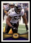 2012 Topps #25  Ray Lewis  Front Thumbnail