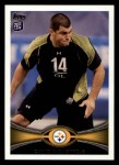 2012 Topps #32  David DeCastro  Front Thumbnail