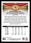 2012 Topps #40  Dwayne Bowe  Back Thumbnail