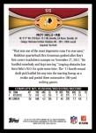 2012 Topps #55  Roy Helu  Back Thumbnail