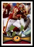 2012 Topps #55  Roy Helu  Front Thumbnail