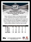 2012 Topps #65  Marvin McNutt  Back Thumbnail