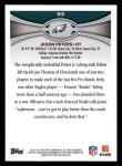 2012 Topps #93  Jason Peters  Back Thumbnail