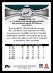 2012 Topps #108  Brent Celek  Back Thumbnail