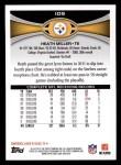 2012 Topps #109  Heath Miller  Back Thumbnail