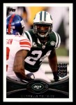2012 Topps #110  Darrelle Revis  Front Thumbnail