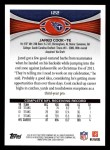 2012 Topps #122  Jared Cook  Back Thumbnail