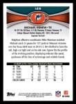 2012 Topps #149  Michael Egnew  Back Thumbnail