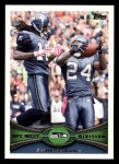 2012 Topps #161   -  Mashawn Lynch / Sidney Rice Seattle Seahawks Front Thumbnail