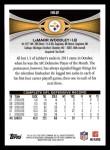 2012 Topps #162  LaMarr Woodley  Back Thumbnail