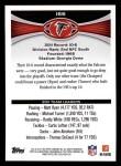 2012 Topps #166   -  Matt Ryan / Roddy White Atlanta Falcons Back Thumbnail