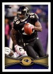 2012 Topps #175  Ed Reed  Front Thumbnail