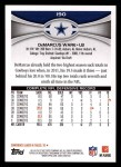 2012 Topps #190  DeMarcus Ware  Back Thumbnail