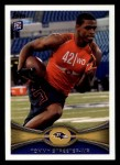 2012 Topps #199  Tommy Streeter  Front Thumbnail