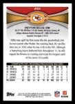 2012 Topps #201  Peyton Hillis  Back Thumbnail