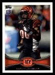 2012 Topps #202  Marvin Jones  Front Thumbnail