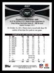 2012 Topps #207  Plaxico Burress  Back Thumbnail