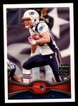 2012 Topps #220  Wes Welker  Front Thumbnail
