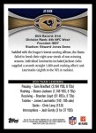 2012 Topps #238   -  James Laurinaitus / Chris Long / Chris Chamberlain St. Louis Rams Back Thumbnail