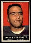 1961 Topps #31  Nick Pietrosante  Front Thumbnail