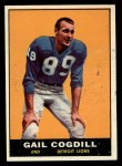 1961 Topps #32  Gail Cogdill  Front Thumbnail